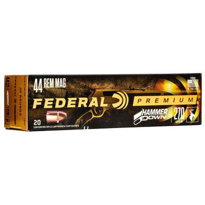 Federal .44 Mag Hammer Down 270GR Ammunition