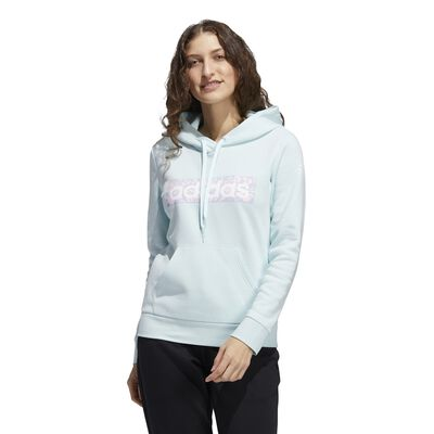 adidas Women's Linear Floral Hoodie