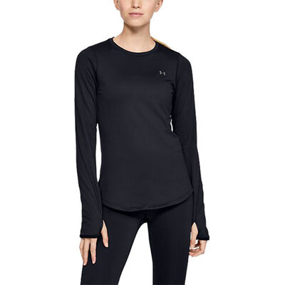 Under Armour Women's Long Sleeve ColdGear Armour Fitted Crew
