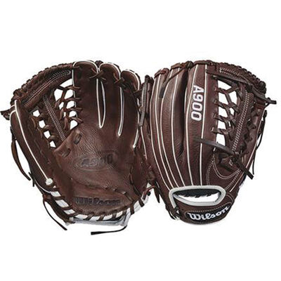 """Wilson Adult 11.75"""" A900 Series Right-handed Throw Baseball Glove"""