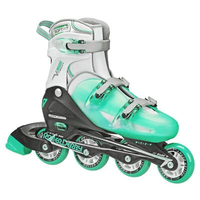 Roller Derby Women's Inline Skates with Adjustable Sizing