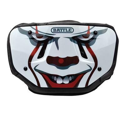 "Battle Sports Youth ""Clown"" Chrome Football Back Plate"
