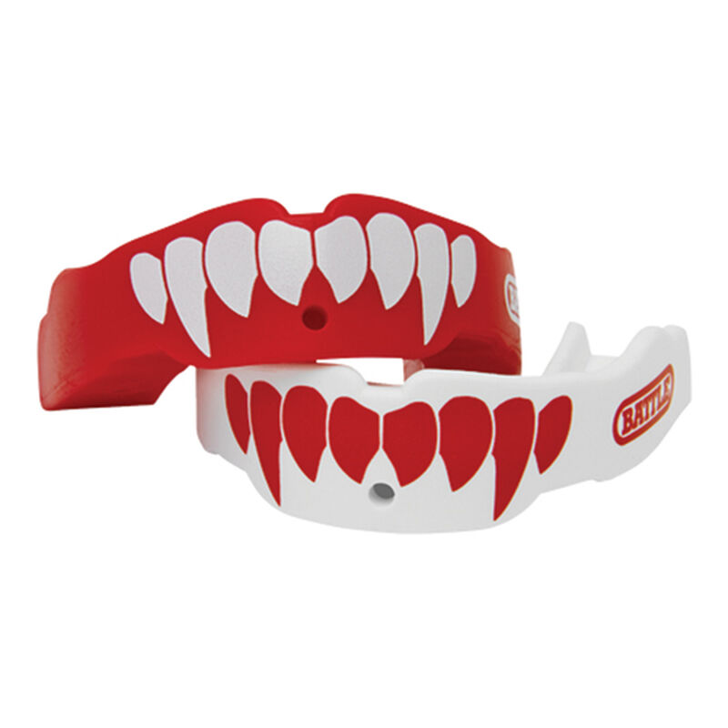 Adult Fangs Football Mouthguard 2- Pack, , large image number 2