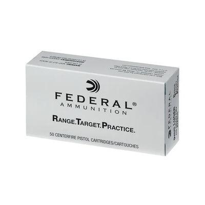Federal Range and Target Handgun Ammunition 9mm 115 Grain Full Metal Jacket