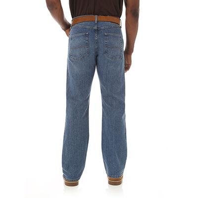 Men's Straight Fit Flex Jeans, , large