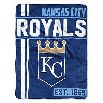 Northwest Co Kansas City Royals Micro Raschel Throw Blanket