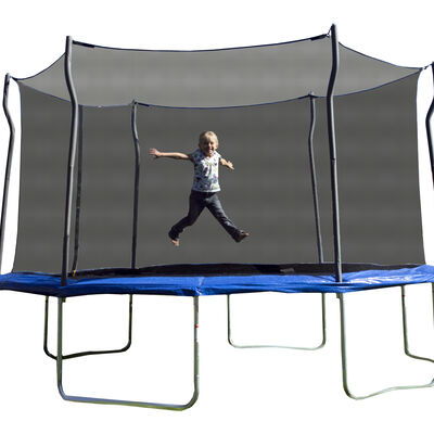 14' Trampoline with Fun-Ring Enclosure, , large