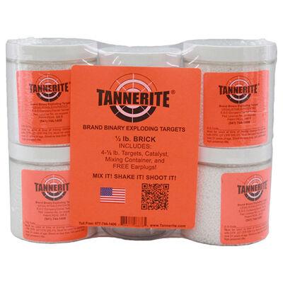 Tannerite Half Brick 4 Pack, 1/2 LB