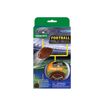 Crazy Aarons Football Field Goal Thinking Putty