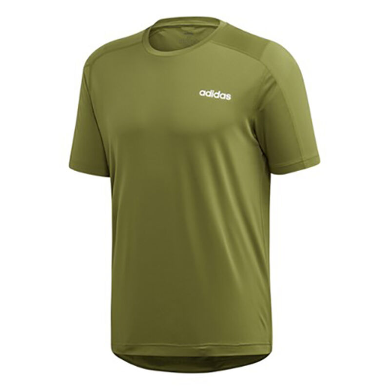 Men's D2M Heathered Short Sleeve Tee, Dkgreen,Moss,Olive,Forest, large image number 0