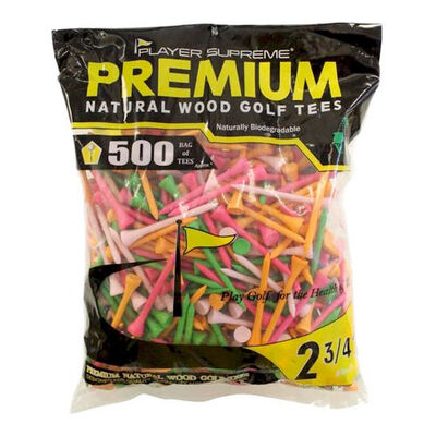 """Jp Lann 2.75"""" Neon Golf Tees - 500 Pack"""