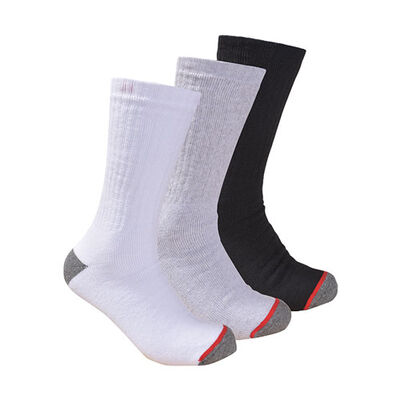 Men's Usa Work Socks - 3 Pack