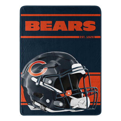 Northwest Co Chicago Bears Micro Raschel Throw Blanket