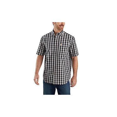 Carhartt Men's Short Sleeve Relax Fit Plaid Tee