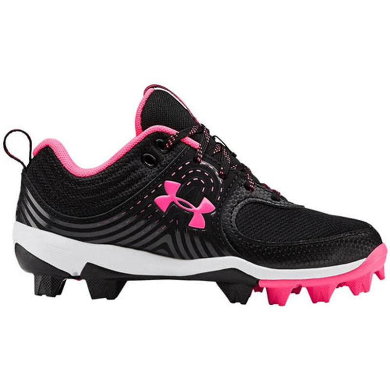 Youth Glyde Rubber Molded Baseball Cleats, , large image number 0