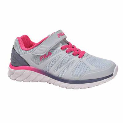 Fila Girls' Cryptonic 3 Strap Running Shoes