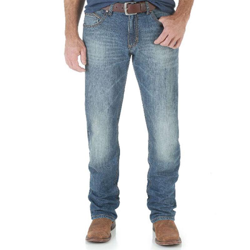 Men's Retro Slim Fit Straight Leg Jeans, , large image number 0