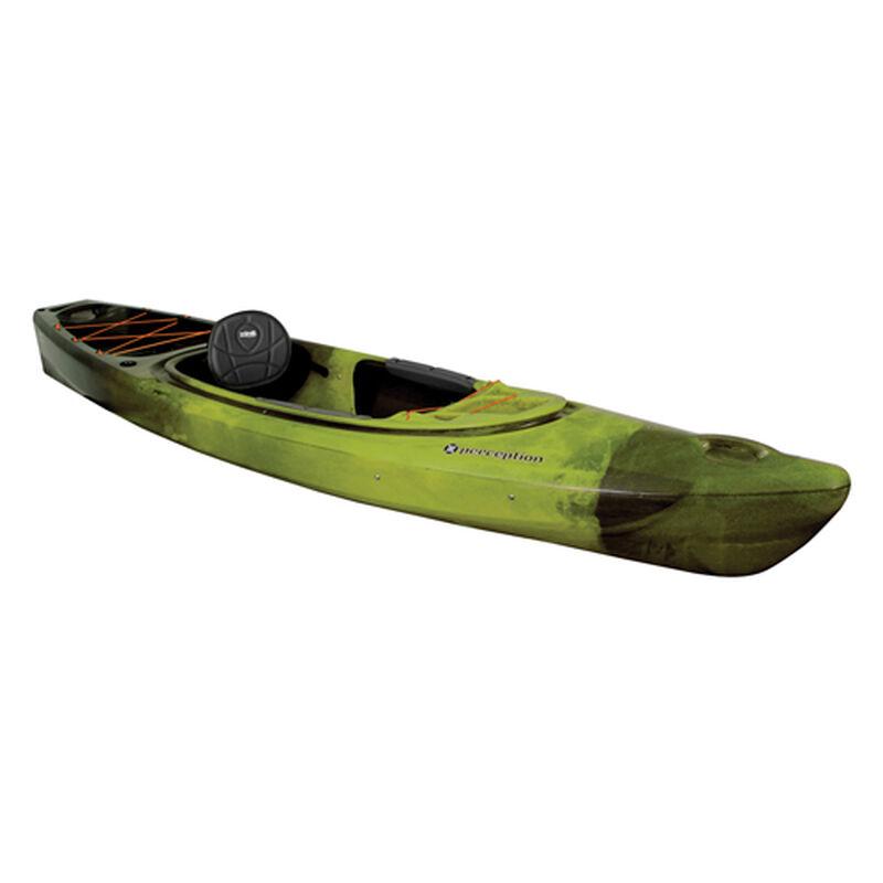 Sound 10.5 Sit-In Angler Kayak, Green/Blk, large image number 0