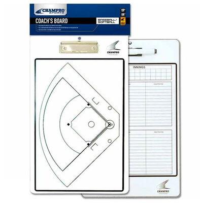Champro Baseball/Softball Coach's Board - Dry Erase