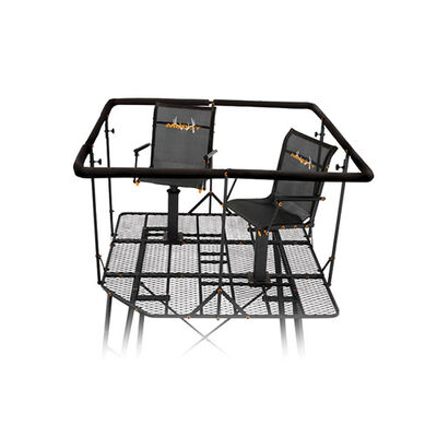 12' Quad Pod Deluxe with Blind Kit and Chairs, , large
