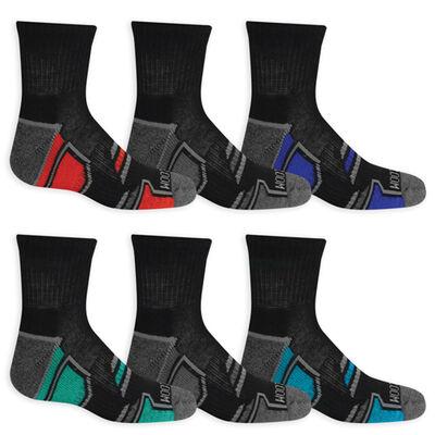 Fruit Of Loom Youth Ankle Socks 6-Pack