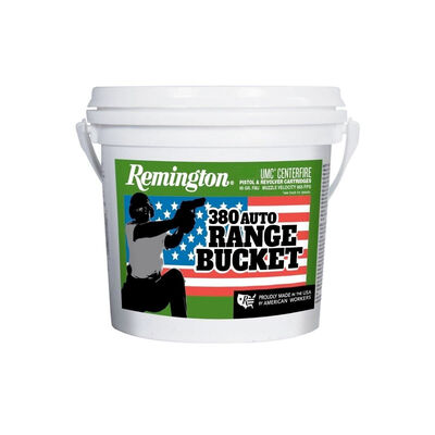 Remington .380 UMC Auto Range Bucket - 300 Rounds