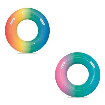 "H2o 36"" Rainbow Swim Ring"