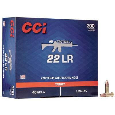 CCI .22LR Tactical 40GR Ammunition - 300 Rounds