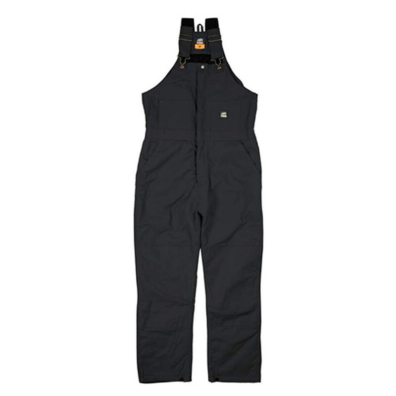 Deluxe Insulated Bib Overalls, Black, large image number 0
