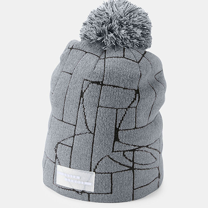 Women's Graphic Pom Beanie, , large image number 0