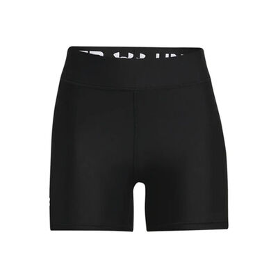 Under Armour Women's Mid Rise Middy Bike Shorts