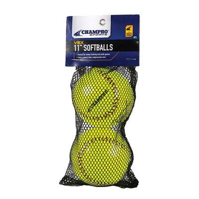 Champro Vex Practice Softballs 2 Pack