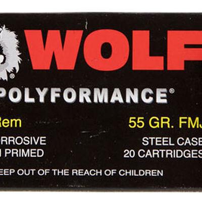 Wolf Wolf .223 55FMJ