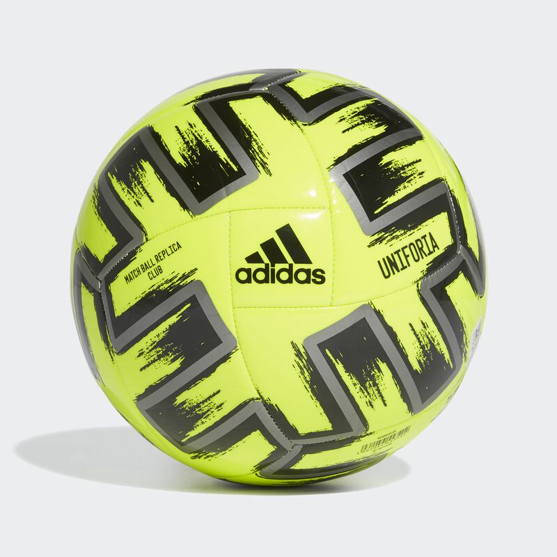 Uniforia Club Soccer Ball, Neon Yellow, large image number 1