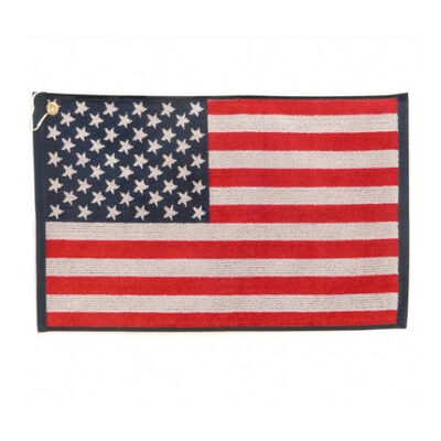 Jp Lann Woven USA Flag Towel