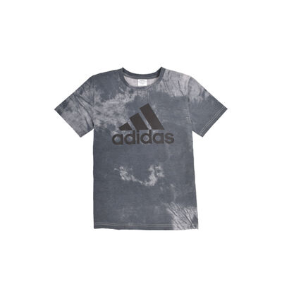 adidas Boys' Tie Dye Badge Of Sport Tee