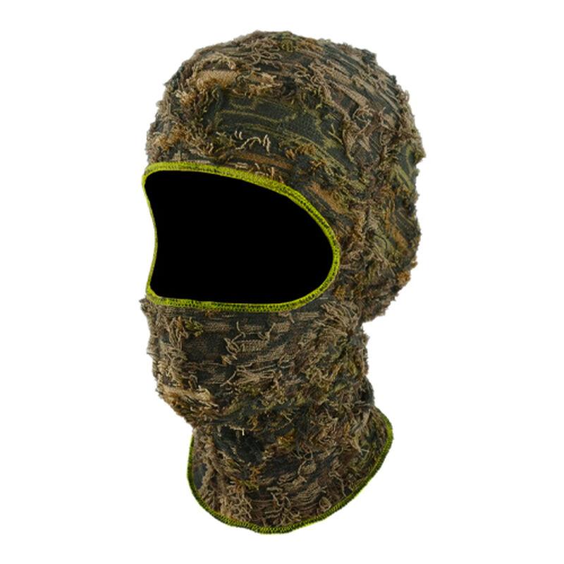 Camo Grass 1 Hole Mask, , large image number 0