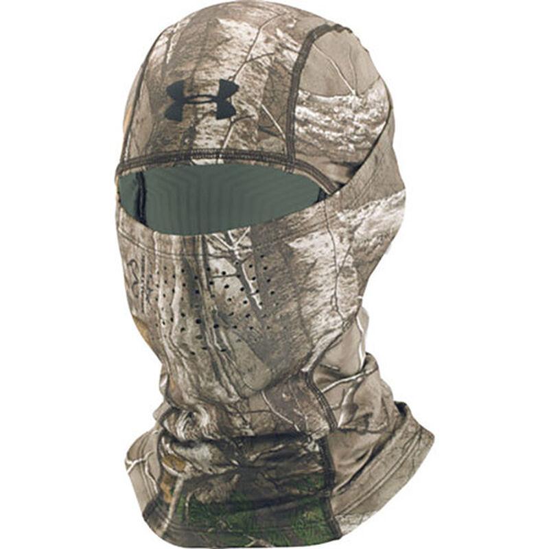 Men's ColdGear Infrared Scent Control Hood, Camouflage Tree Bark, large image number 0