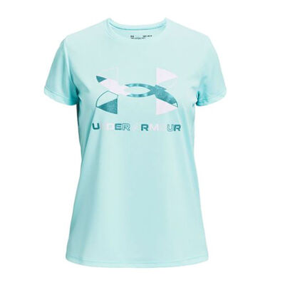 Under Armour Girls' Short Sleeve Tech Graphic Tee