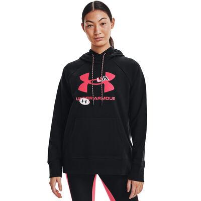 Under Armour Women's Rival Fleece Big Logo Hoodie