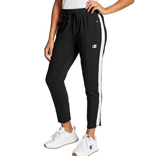 Women's Heritage Fleece Pants, Black, swatch