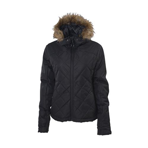 Women's Hailstone Jacket, Black, swatch