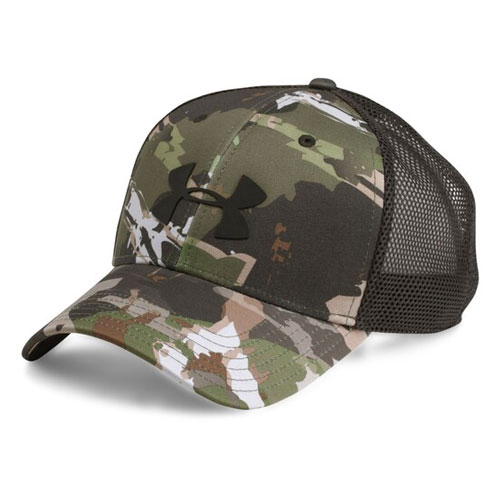 Men's Camo Mesh Cap 2.0, Camouflage Green, swatch