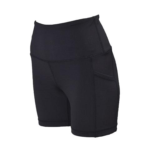"Women's 5"" High Rise Shorts, Black, swatch"