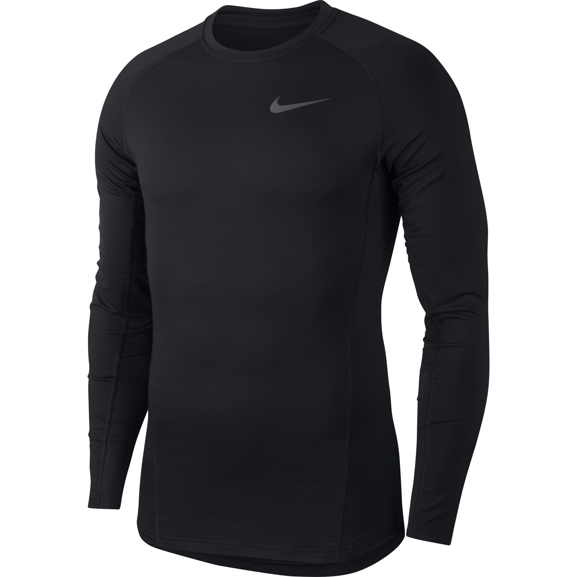 Men's Pro Therma Cold Compression Long Sleeve Shir, Black, swatch