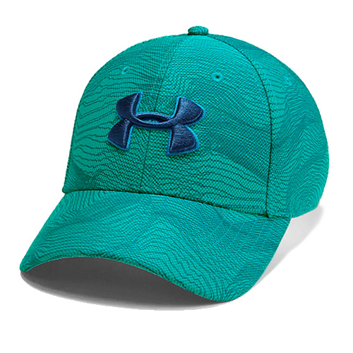 Boys' Printed Blitzing 3.0 Cap, Blue/Green, swatch
