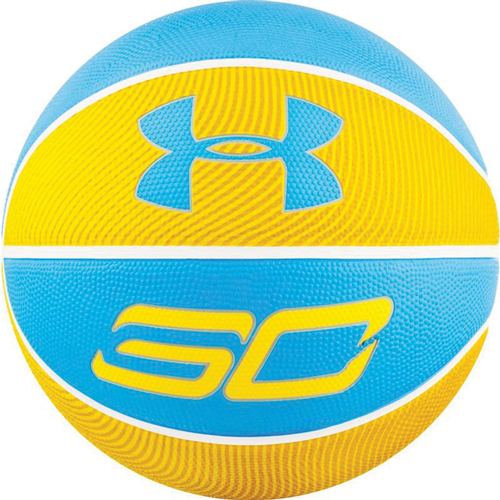 Curry Basketball, Yellow/Blue, swatch