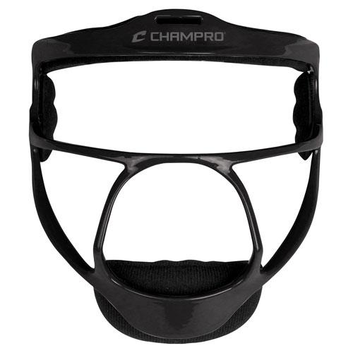 Rampage Fielder's Mask, Black, swatch