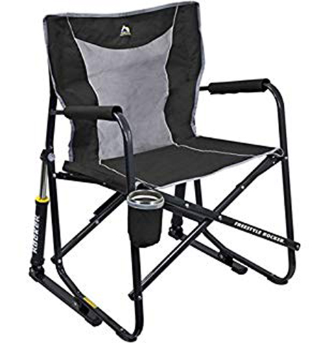 Freestyle Collapsible Rocker, Black, swatch