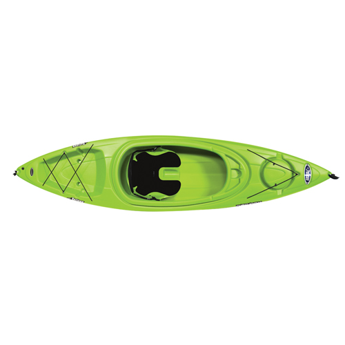 Rise 100x Sit-in Kayak, Lime, swatch